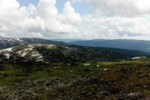 View of Pukeashun Mountain