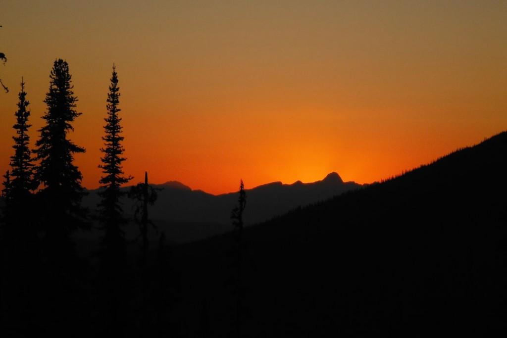 Dunn Peak Sunset
