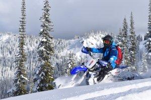 Yamaha Snowbike Rentals